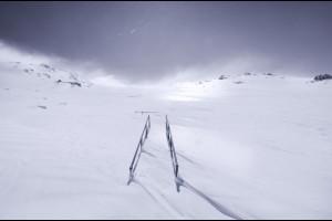 Pelting Snow