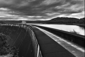 Across a Dam