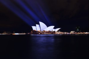 Sydney Projected