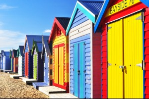 Colours of Brighton Beach