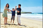 Family photo shoot in Wollongong