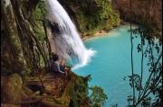 Gunjan Virk, Things to Dot photo shoot at Kawasan Falls, Philippines