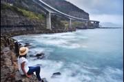 Gunjan Virk, Things to Dot photo shoot at Sea Cliff Bridge