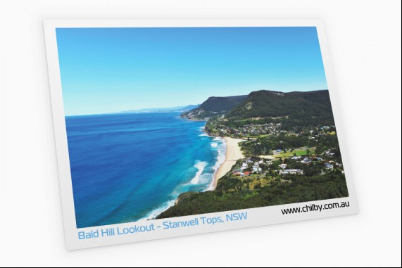 Portcard of Bald Hill Lookout
