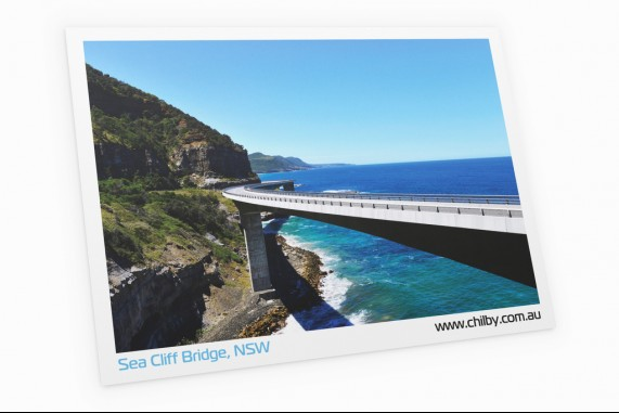 Postcard of Sea Cliff Bridge
