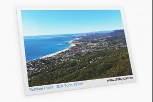 Postcard of Sublime Point Lookout