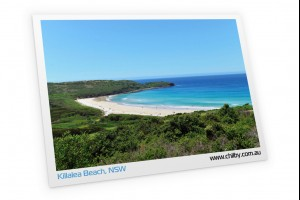 Postcard of Killalea Beach