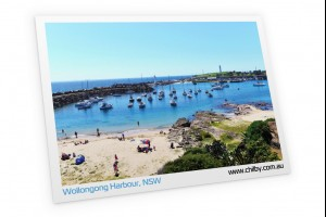 Postcard of Wollongong Harbour