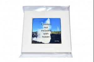 Coaster Set Holder - Holds 4